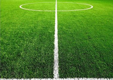 Green Artificial Sports Turf , Synthetic Lawn Turf Good Air - Permeability
