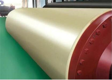 Paper Making Machine Parts - Artificial stone press roll for Paper Machine used Press Section